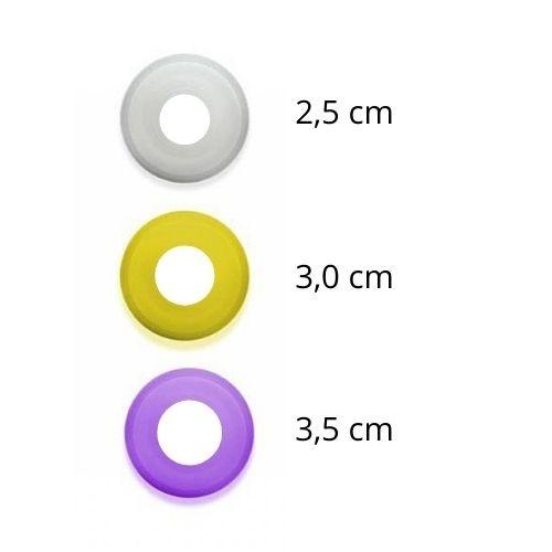 Kit com 3 Anéis De Diâmetro Interno Diferente Bomba Peniana