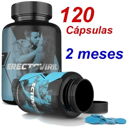 Oferta 2 Erectoviril Suplemento Mineral 120cps Para 2 Meses