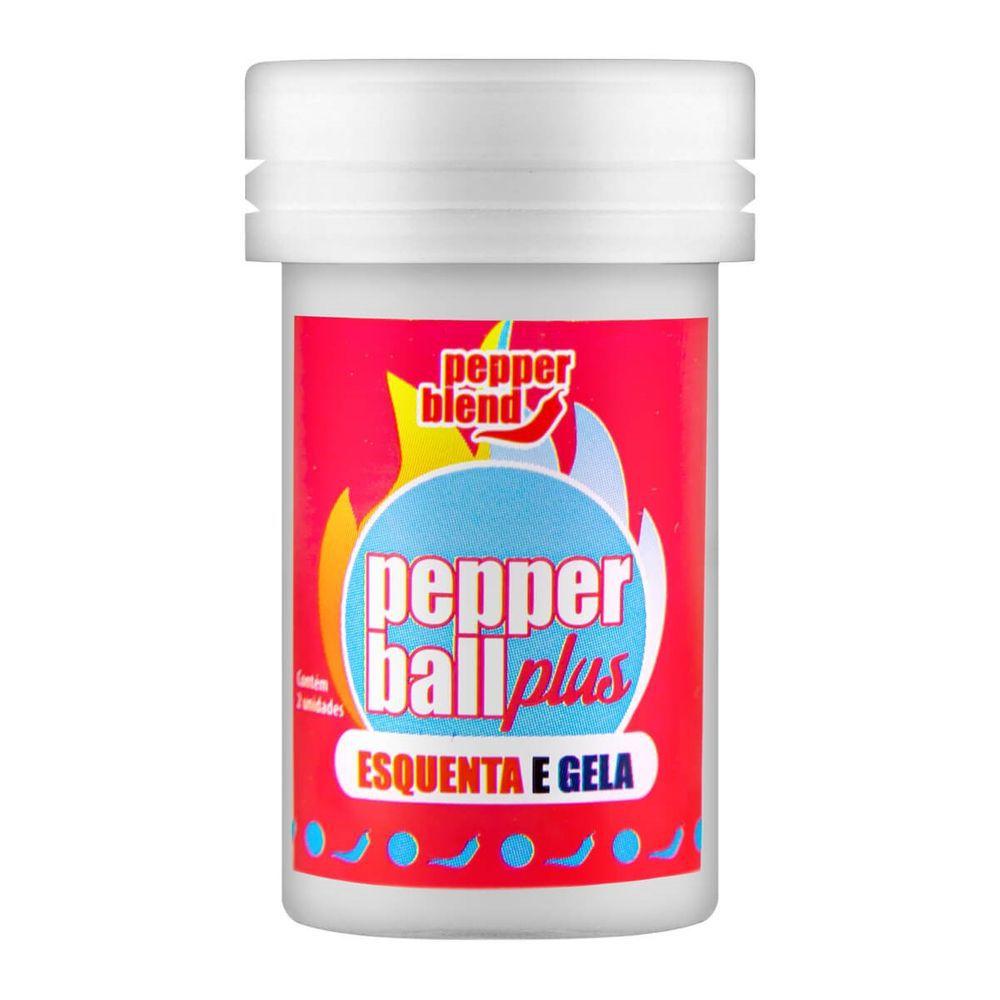 Pepper Ball Plus Bolinha Explosiva Beijável Esquenta e Gela