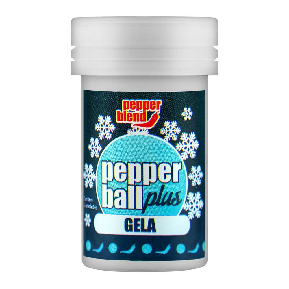 Pepper Ball Plus Bolinha Explosiva Beijável Gela