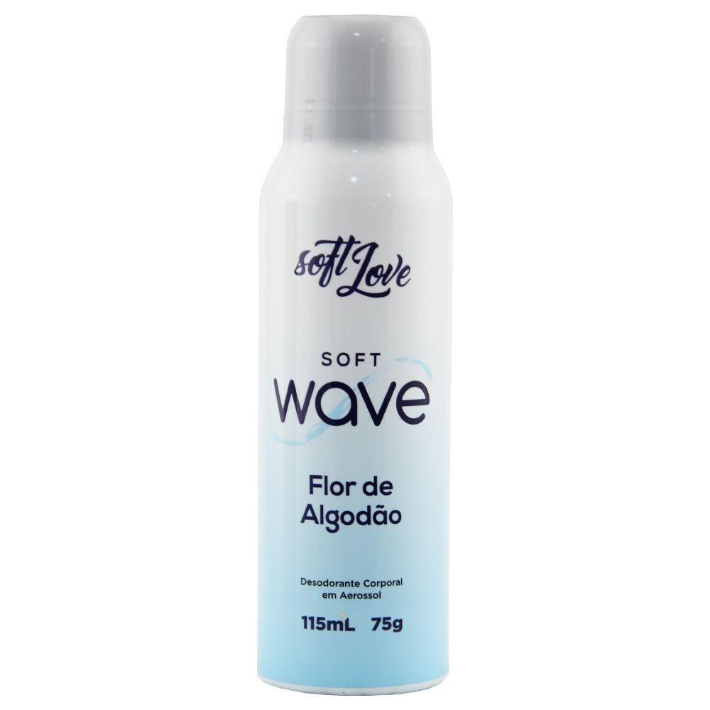 Soft Love Soft Wave Desodorante Corporal Flor de Algodão