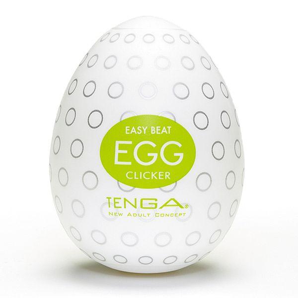 Tenga Egg Original Masturbador Masculino Forma Ovo Clicker