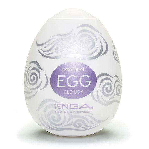 Tenga Egg Original Masturbador Masculino Forma Ovo Cloudy