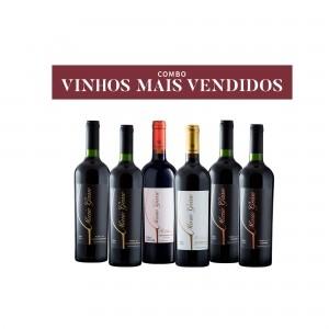 COMBO VINHOS MAIS VENDIDOS
