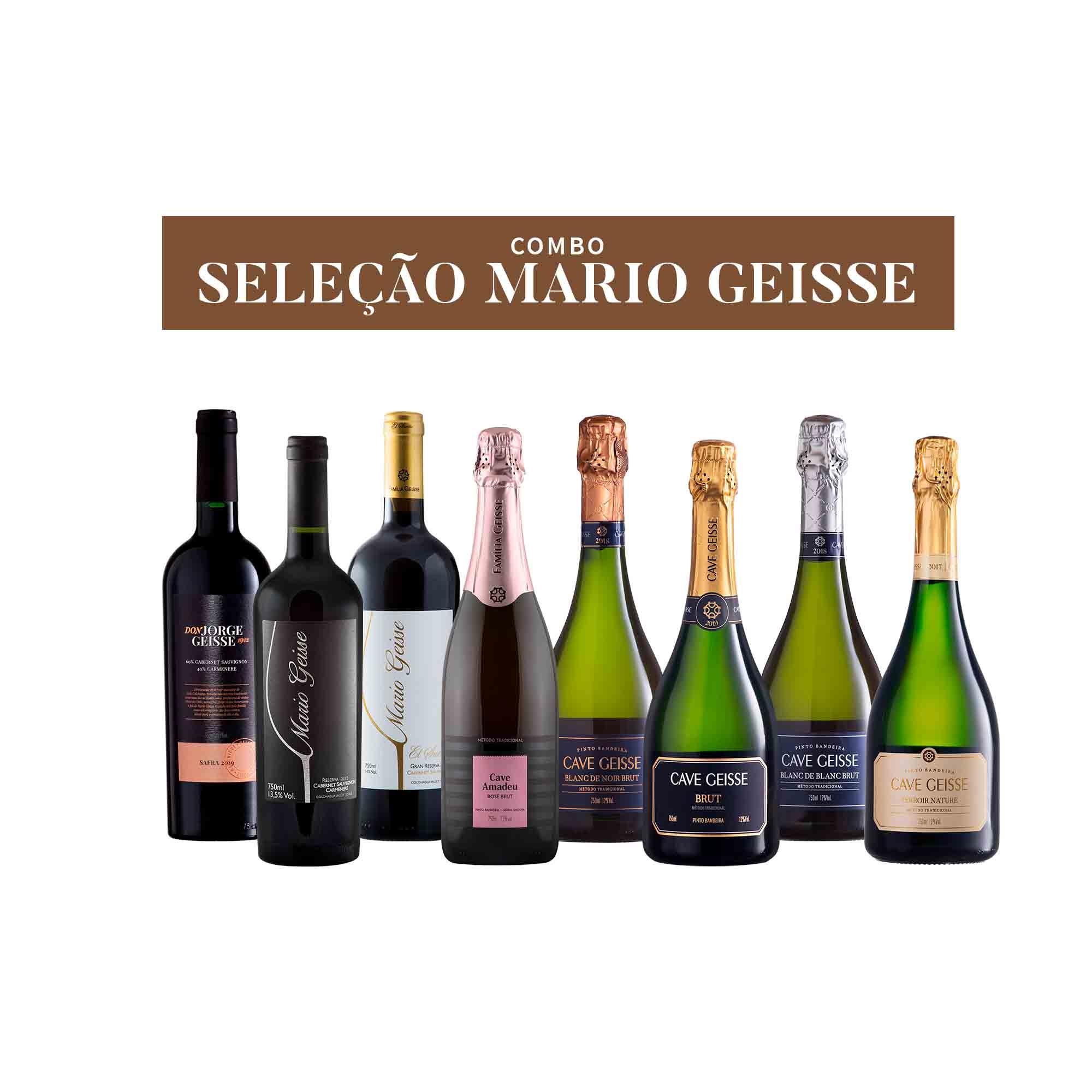COMBO SELEÇÃO MARIO GEISSE