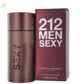 212 Sexy Men - Carolina Herrera Eau de Toilette - Perfume Masculino 100ml