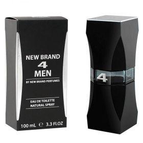 4 Men - Eau de Toilette New Brand - Perfume Masculino 100ml