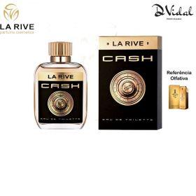 Cash - La Rive Eau de Toilette - Perfume Masculino 100ml