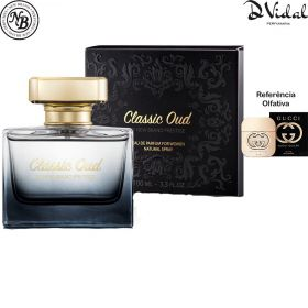 Classic Oud - Eau de Parfum New Brand Prestige - Perfume Feminino -100ml