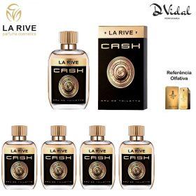 Combo 04 Perfumes - Cash La Rive Eau de Toilette - Perfume Masculino 100ml
