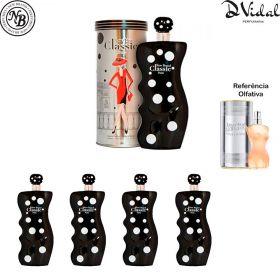 Combo 04 Perfumes - Classic Paris New Brand Eau de Parfum - Perfume Feminino 100ml