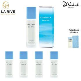 Combo 04 Perfumes - Donna La Rive Eau de Parfum - Perfume Feminino 90ml