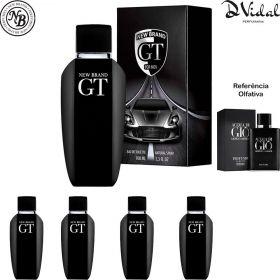 Combo 04 Perfumes - GT Eau de Toilette New Brand - Perfume Masculino 100ml