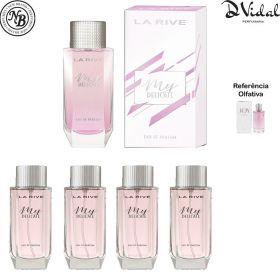 Combo 04 Perfumes - My Delicate Eau De Parfum La Rive - Perfume 90ml