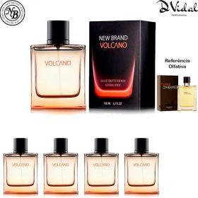 Combo 04 Perfumes - Volcano For Men Eau de Toilette New Brand - Perfume Masculino 100ml