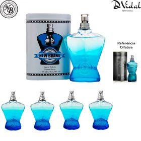 Combo 04 Perfumes - World Champion Blue Eau de Toilette New Brand - Perfume Masculino
