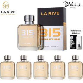 Combo 05 perfumes - 315 Prestige La Rive Eau de Toilette - Perfume Masculino 100ml