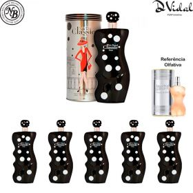 Combo 05 Perfumes - Classic Paris New Brand Eau de Parfum - Perfume Feminino 100ml