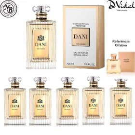 Combo 05 Perfumes - Dani New Brand Prestige Eau De Parfum - Perfume Feminino 100ml