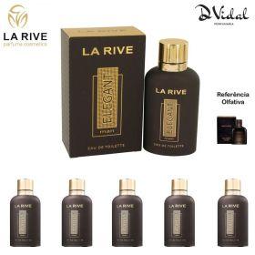 Combo 05 Perfumes - La Rive Elegant Man Eau de Toilette - Perfume Masculino 90ml