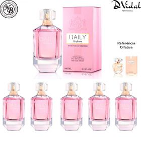 Combo 05 Perfumes - Prestige Daily Eau de Parfum New Brand - Perfume Feminino 100ml