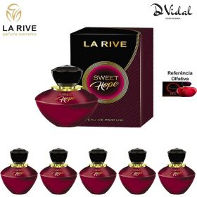 Combo 05 Perfumes - Sweet Hope La Rive Eau de Parfum - Perfume Feminino 90ml