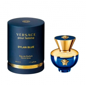 Dylan Blue Pour Femme - Versace Eau de Parfum - Perfume Feminino 50ML