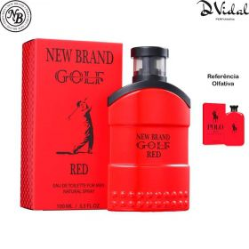 Golf Red New Brand Eau de Parfum - Perfume Masculino 100ml