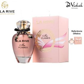 In Flames - La Rive Eau de Parfum - Perfume Feminino 90ml