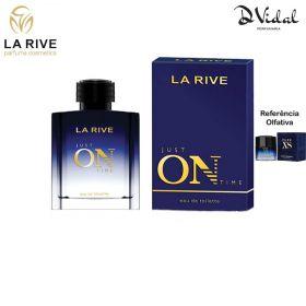 Just On Time La Rive Eau de Toilette - Perfume Masculino 100ml