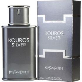 Kouros Silver - Yves Saint Laurent Eau de Toilette - Perfume Masculino