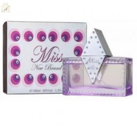 Miss For Women - Eau de Parfum New Brand - Perfume Feminino 100ml