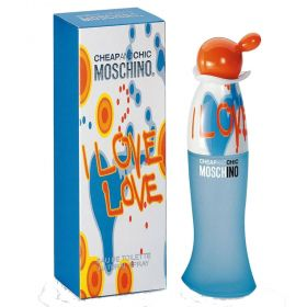 Moschino I Love Love Eau de Toilette Feminino 100ml