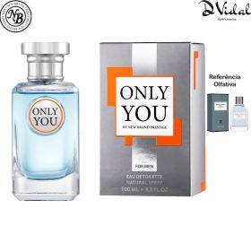Only You For Men - New Brand Eau de Toilette - Perfume Masculino 100ml