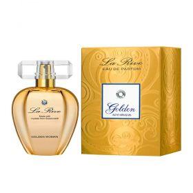 Golden Woman La Rive Eau de Parfum Feminino Cristal Swarovski  75ml
