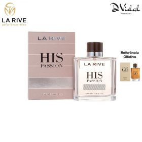 His Passion - La Rive Eau De Toilette - Perfume Masculino 100ml