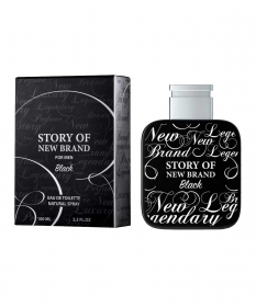 Story of New Brand Black Eau de Toilette - Perfume Masculino 100ml