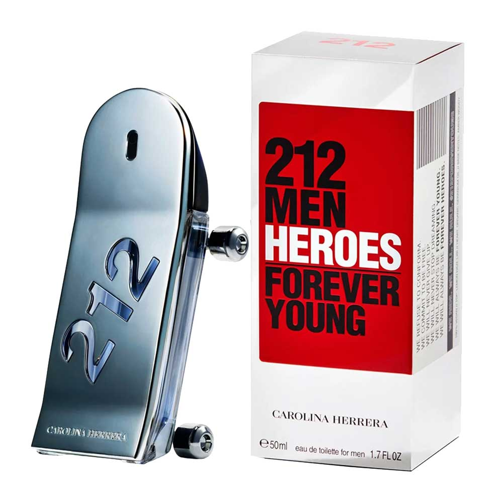 212 Heroes Carolina Herrera - Perfume Masculino - EDT