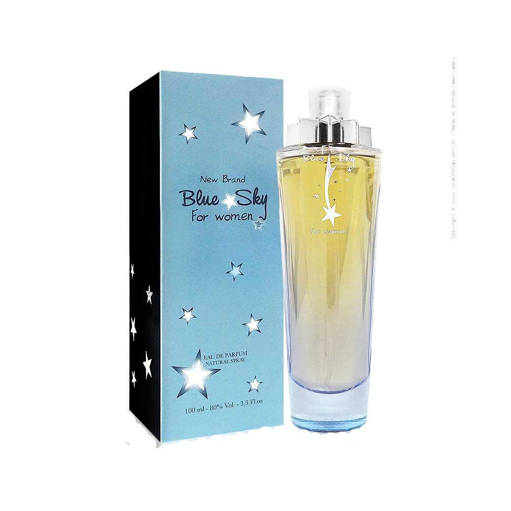 Blue Sky - New Brand - Perfume Feminino Eau de Parfum - 100ml