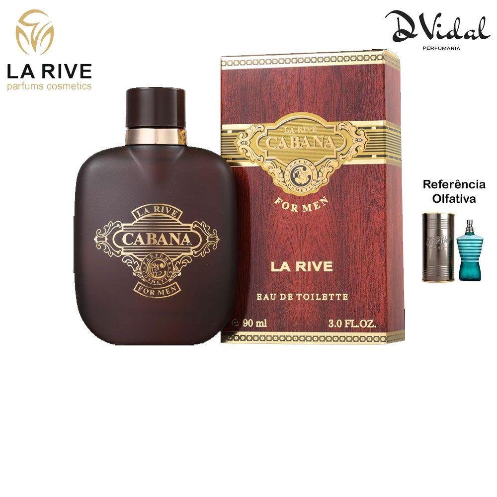Cabana - La Rive Eau de Toilette - Perfume Masculino 90ml