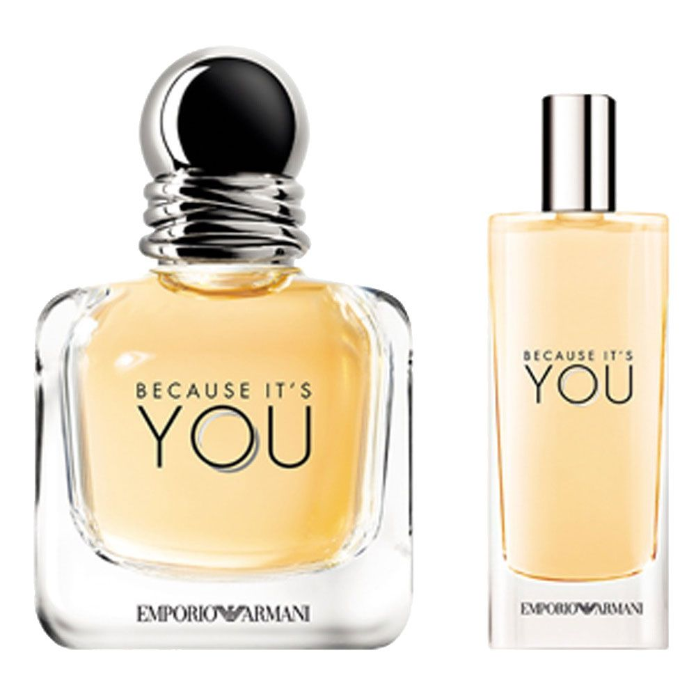 Kit Because It's You Giorgio Armani - Eau de Parfum 50ml + Travel Size 15ml - Feminino