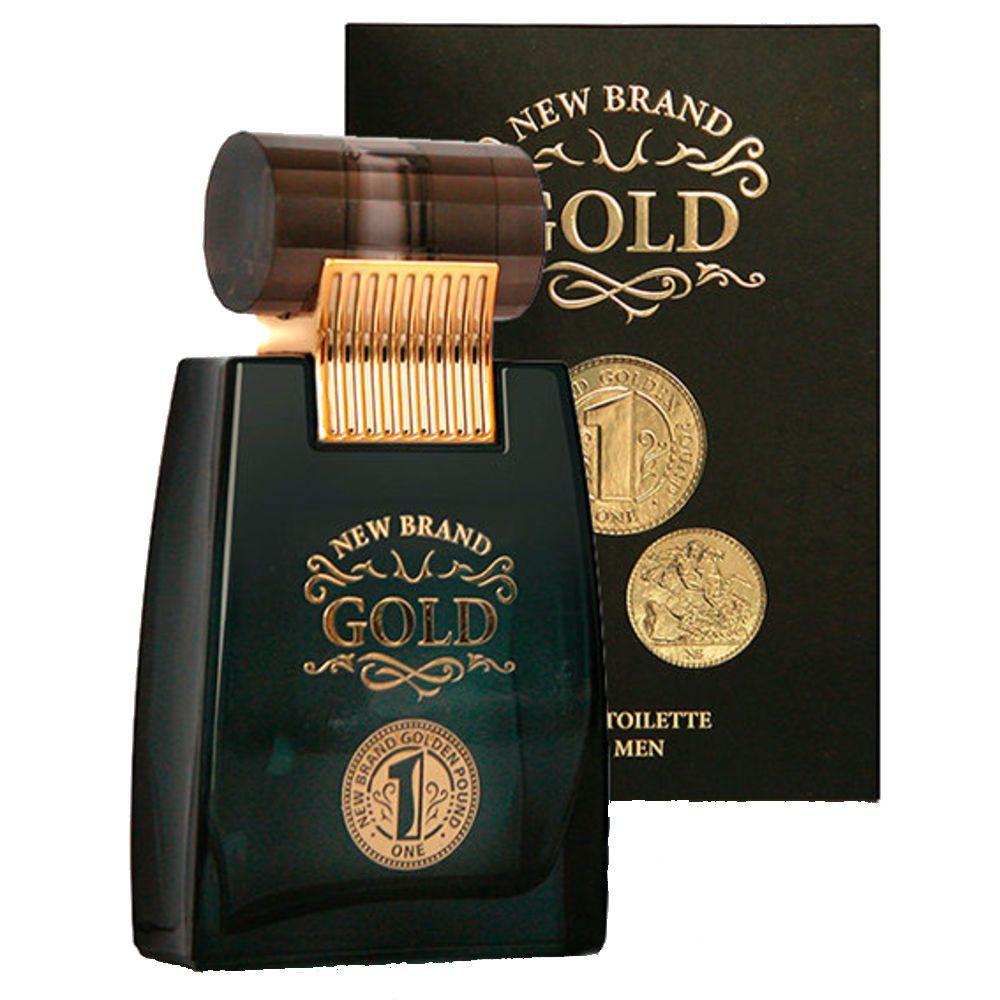 Gold Men Eau de Toilette New Brand - Perfume Masculino 100ml