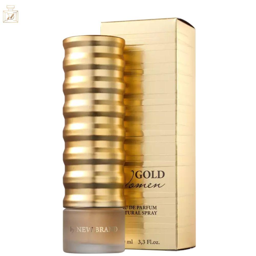 Gold Women New Brand Eau de Parfum - Perfume Feminino 100ml