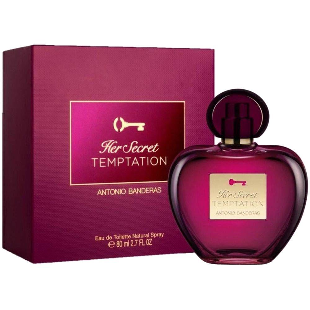 Her Secret Temptation - Antonio Banderas Eau de Toilette - Perfume Feminino 50ML