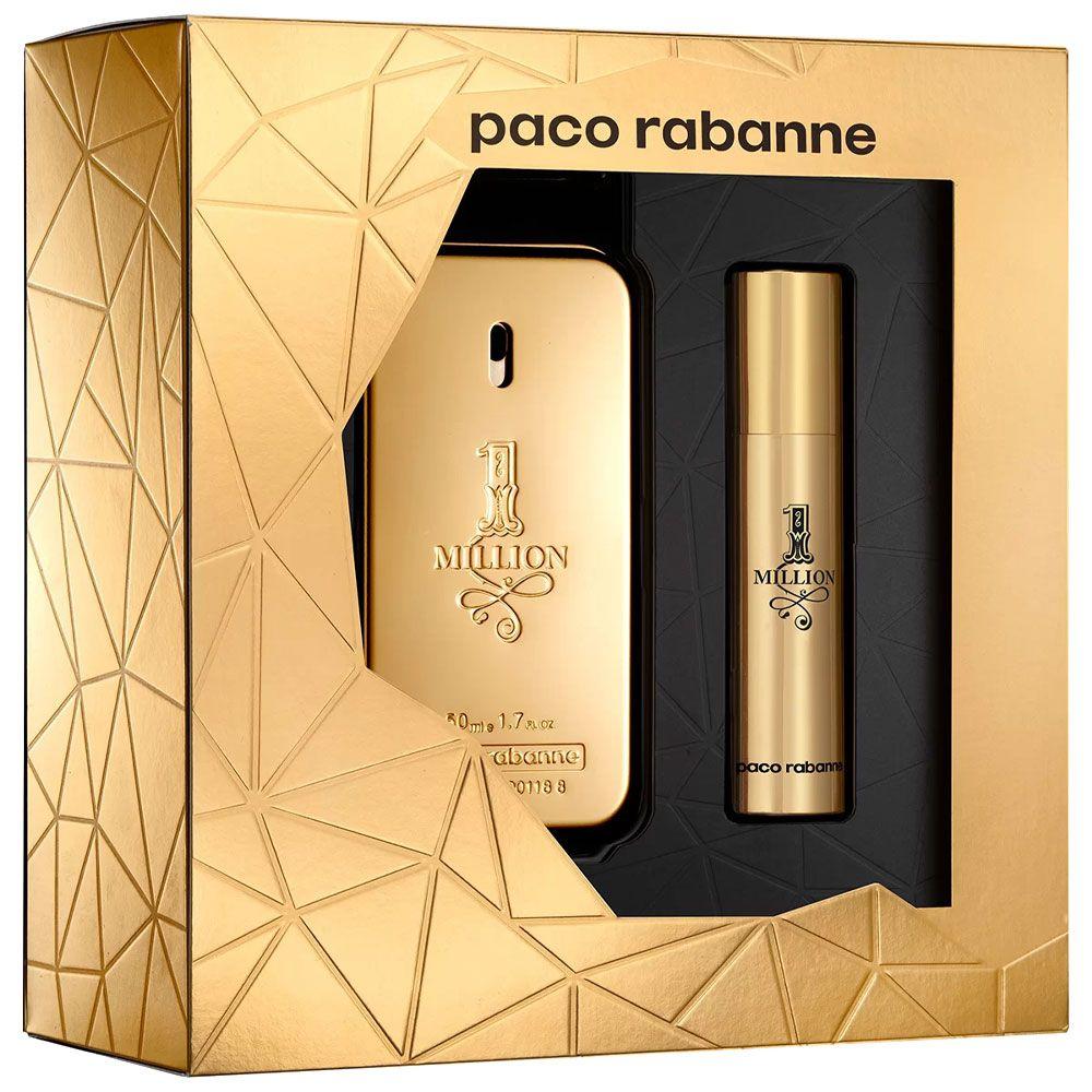 Kit 1 Million Paco Rabanne - Eau de Toilette 50ml + Travel Size 10ml - Masculino