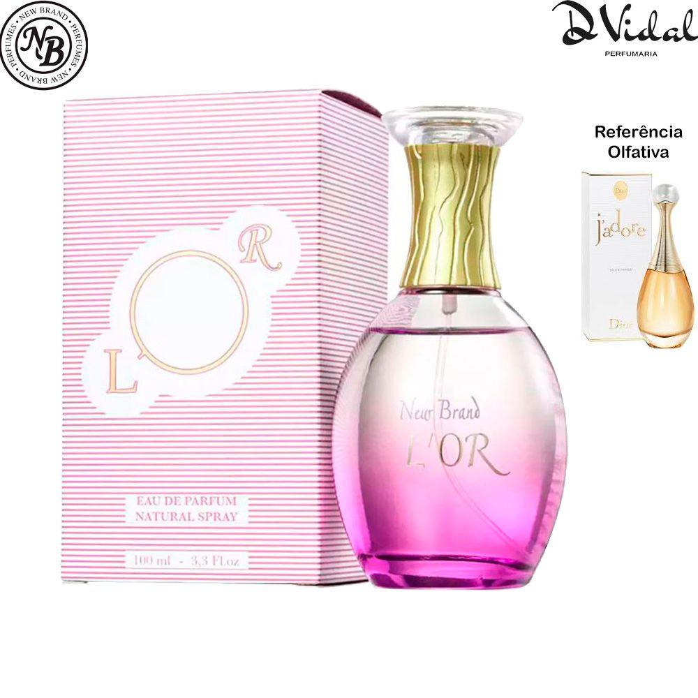 L'Or New Brand Eau de Parfum - Perfume Feminino 100ml
