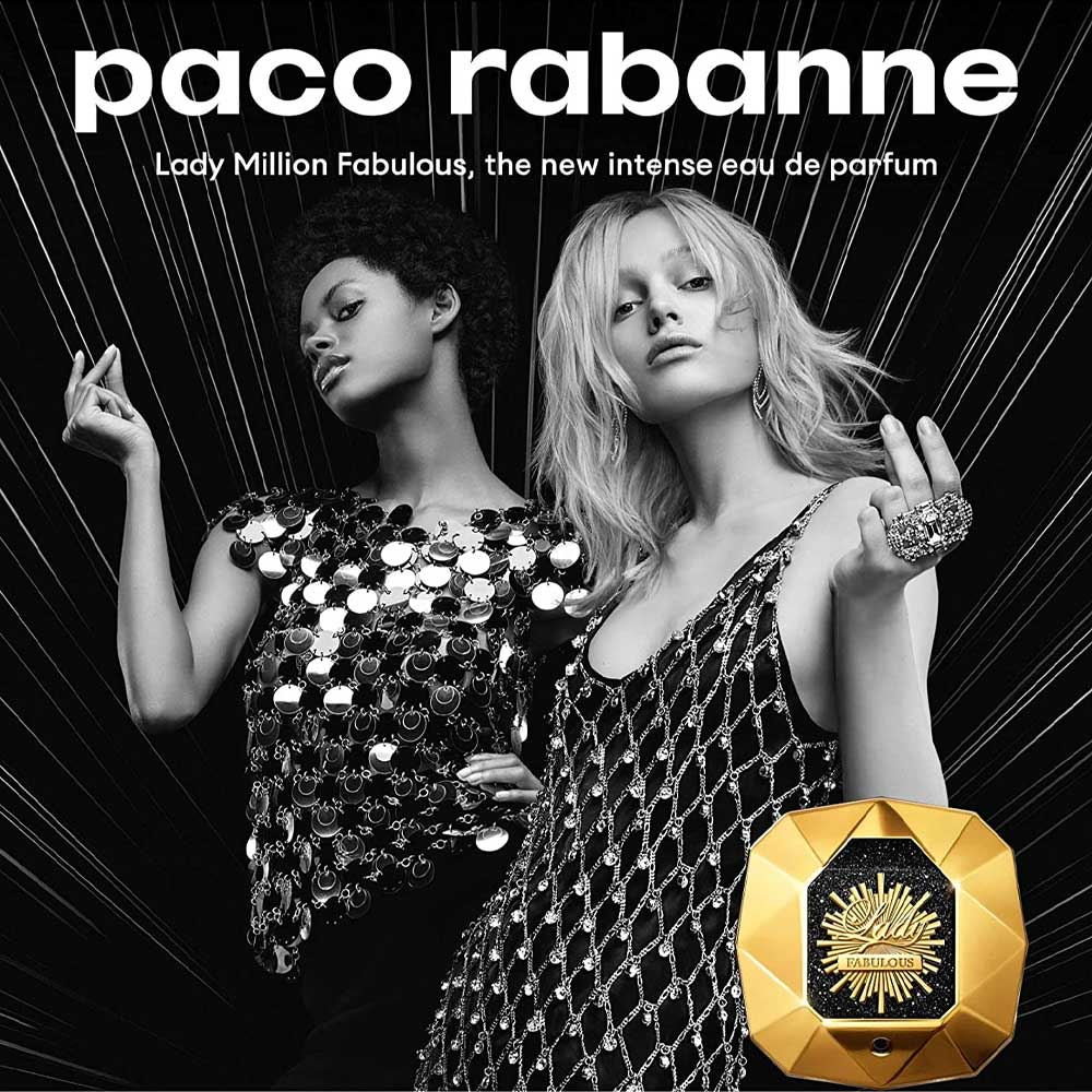 Lady Million Fabulous Paco Rabanne Perfume Feminino EDP