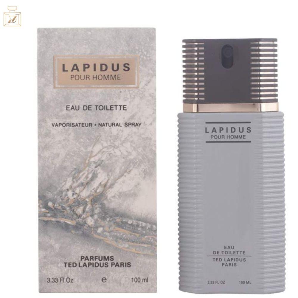 Lapidus Pour Homme - Ted Lapidus Eau de Toilette - Perfume Masculino 100ML