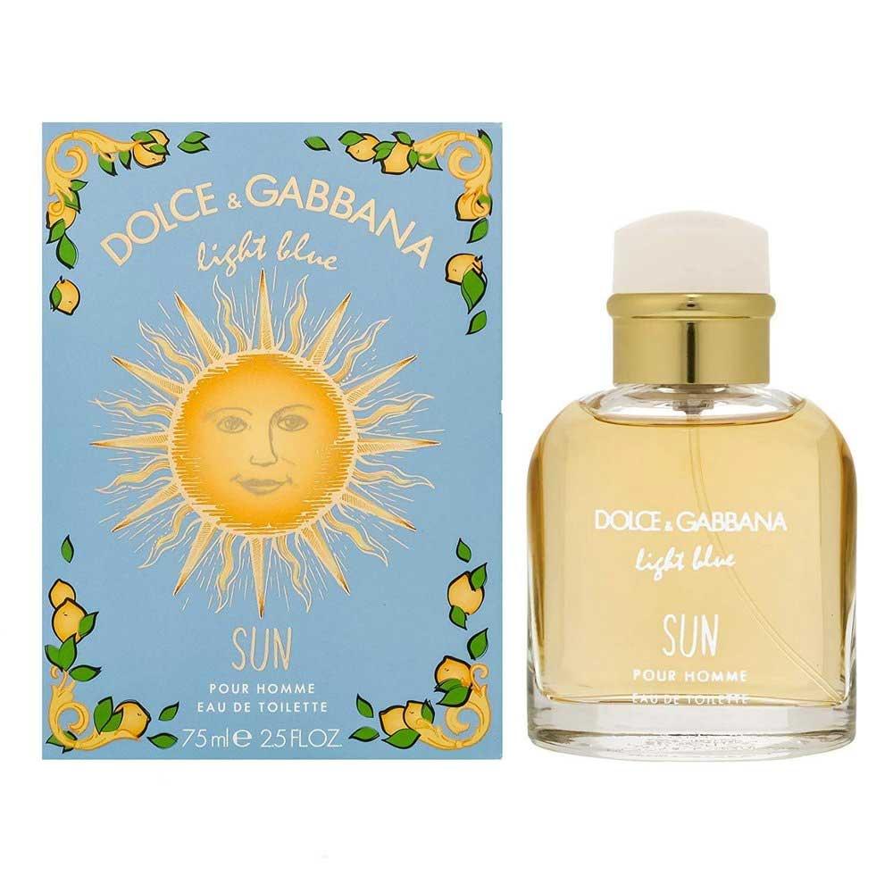 Light Blue Sun Pour Homme Dolce & Gabbana Eau de Toilette - Perfume Masculino 125ml