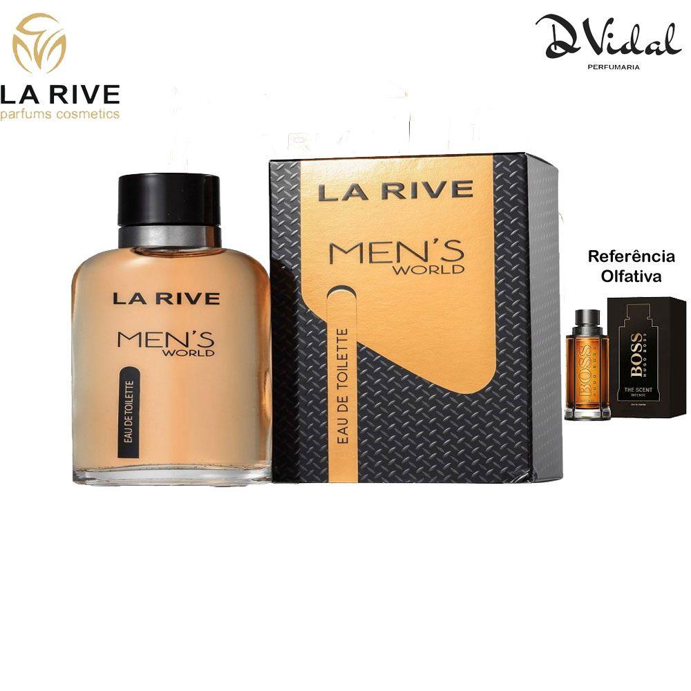 Men's World - La Rive Eau de Toilette - Perfume Masculino 90ml